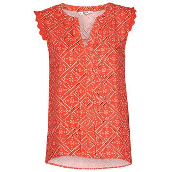 textil Dam Blusar Only ONLVIOLETTE Orange