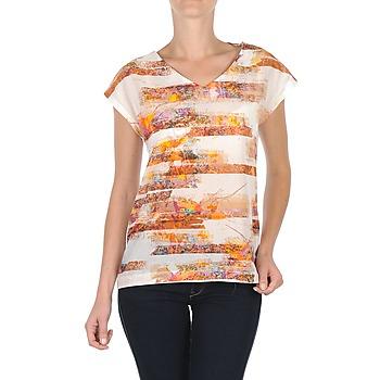 textil Dam T-shirts TBS JINTEE Vit