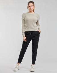 textil Dam Chinos / Carrot jeans Only ONLPOPSWEAT Svart