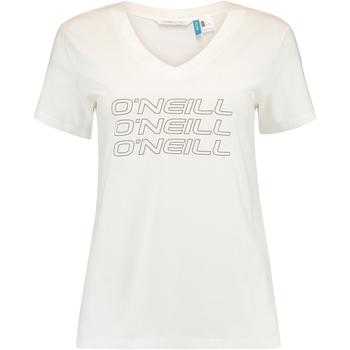textil Dam T-shirts O'neill Triple Stack Vit