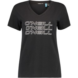 textil Dam T-shirts O'neill Triple Stack Svart