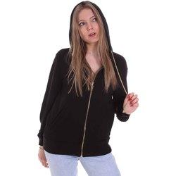textil Dam Sweatshirts Cristinaeffe 4960 Svart