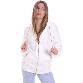 textil Dam Sweatshirts Cristinaeffe 4963 Vit