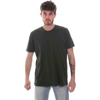 textil Herr T-shirts Key Up 2M915 0001 Grön
