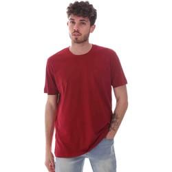 textil Herr T-shirts Key Up 2M915 0001 Röd