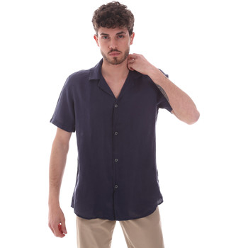 textil Herr Kortärmade skjortor Sseinse CE588SS Blå