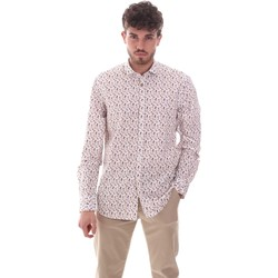 textil Herr Långärmade skjortor Sseinse CE620SS Vit
