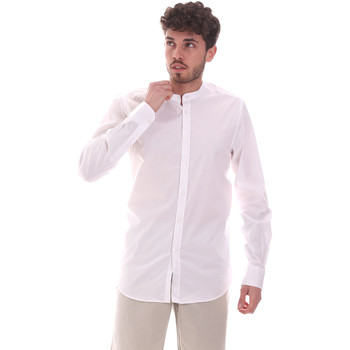 textil Herr Långärmade skjortor Sseinse CE639SS Vit
