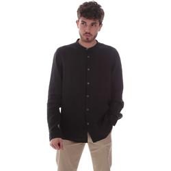 textil Herr Långärmade skjortor Sseinse CE643SS Svart