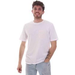textil Herr T-shirts Sseinse TE1852SS Vit