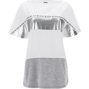 textil Dam T-shirts Freddy S1WSDT2M Vit