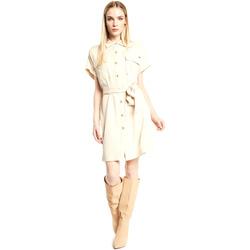 textil Dam Korta klänningar Gaudi 111FD15011 Beige