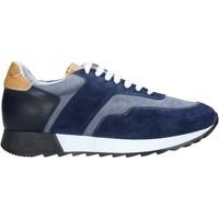 Skor Herr Sneakers Alviero Martini P169 306B Blå
