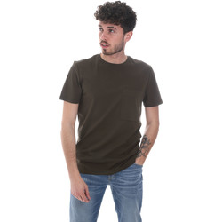 textil Herr T-shirts Antony Morato MMKS02023 FA100229 Grön