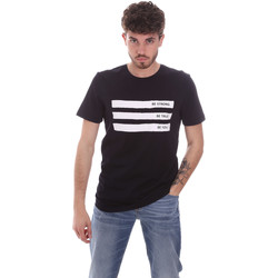textil Herr T-shirts Antony Morato MMKS02035 FA100144 Blå