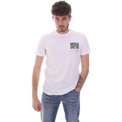 textil Herr T-shirts Antony Morato MMKS01993 FA120001 Vit