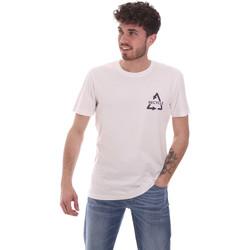 textil Herr T-shirts Antony Morato MMKS02005 FA100144 Vit