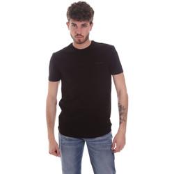 textil Herr T-shirts Antony Morato MMKS01855 FA120022 Svart
