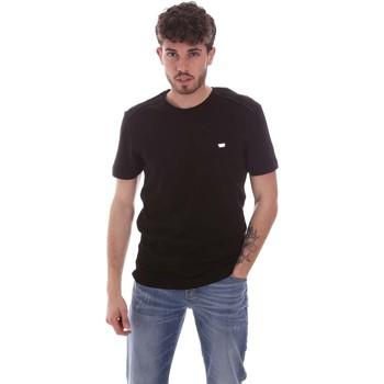 textil Herr T-shirts Antony Morato MMKS01924 FA100144 Svart