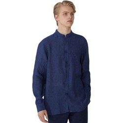 textil Herr Långärmade skjortor Trussardi 52C00154-1T002248 Blå