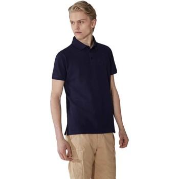 textil Herr Kortärmade pikétröjor Trussardi 52T00492-1T003600 Blå