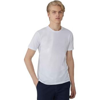 textil Herr T-shirts Trussardi 52T00499-1T003614 Vit