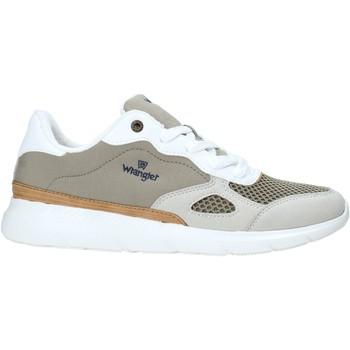 Skor Herr Sneakers Wrangler WM11050A Grön