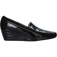 Skor Dam Loafers Confort 3781 Svart