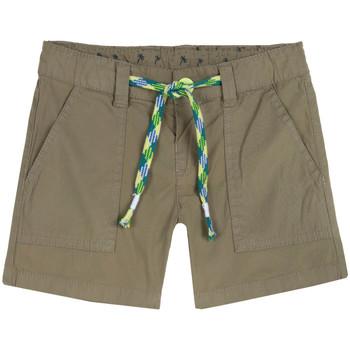 textil Flickor Shorts / Bermudas Chicco 09052976000000 Grön