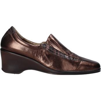 Skor Dam Loafers Confort 6309 Brun