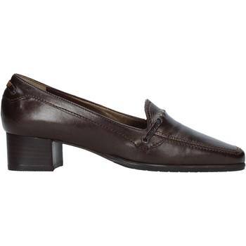 Skor Dam Loafers Confort 6395 Brun