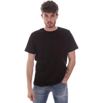textil Herr T-shirts Navigare NV71003 Svart