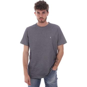 textil Herr T-shirts Navigare NV81007 Grå