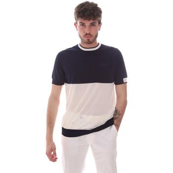textil Herr T-shirts Antony Morato MMSW01166 YA100062 Blå