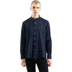 textil Herr Långärmade skjortor Refrigiwear RM0C10100LI9110 Blå