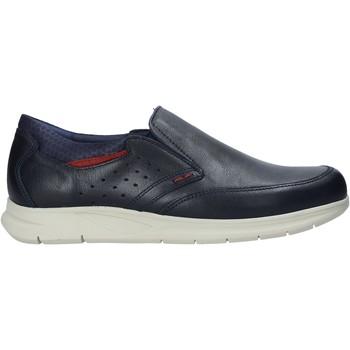 Skor Herr Slip-on-skor Rogers 2700 Blå