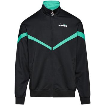 textil Herr Sweatshirts Diadora 502176080 Svart