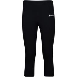 textil Dam Leggings Diadora 102175700 Svart