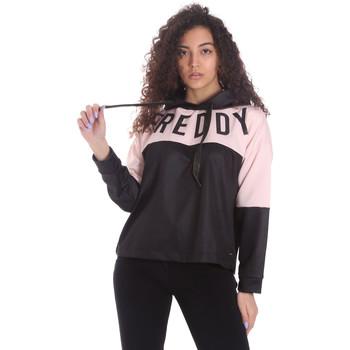 textil Dam Sweatshirts Freddy S1WSDS9 Svart