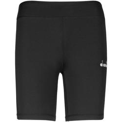 textil Dam Shorts / Bermudas Diadora 102176130 Svart