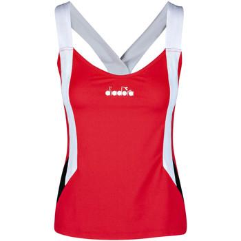 textil Dam Linnen / Ärmlösa T-shirts Diadora 102175658 Röd