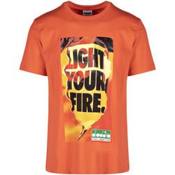 textil Herr T-shirts Diadora 502175837 Orange