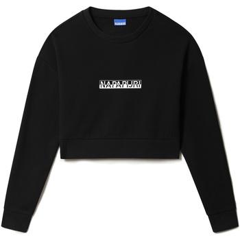 textil Dam Sweatshirts Napapijri NP0A4FJS Svart