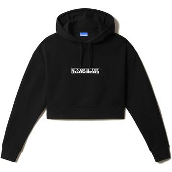 textil Dam Sweatshirts Napapijri NP0A4FJR Svart
