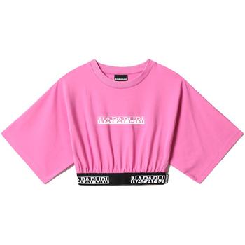 textil Dam Blusar Napapijri NP0A4FHH Rosa