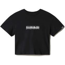 textil Dam T-shirts Napapijri NP0A4EYZ Svart