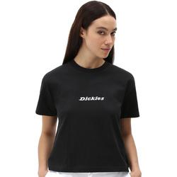 textil Dam T-shirts Dickies DK0A4XBABLK1 Svart