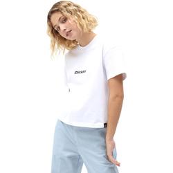 textil Dam T-shirts Dickies DK0A4XBAWHX1 Vit
