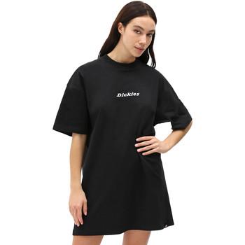 textil Dam Korta klänningar Dickies DK0A4XB8BLK1 Svart