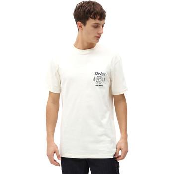 textil Herr T-shirts Dickies DK0A4X9NECR1 Vit